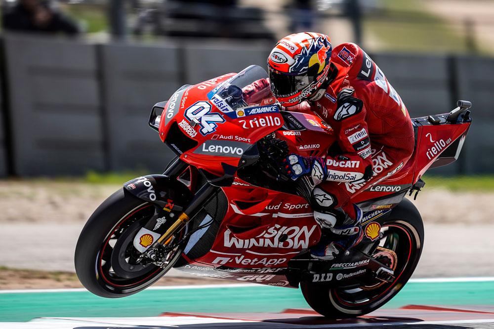 Andrea Dovizioso llega a Jerez como líder del Mundial en la categoría MotoGP