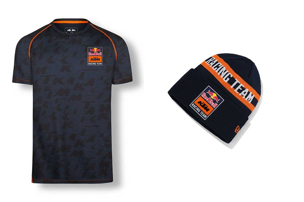 Camiseta y gorro KTM Racing Time