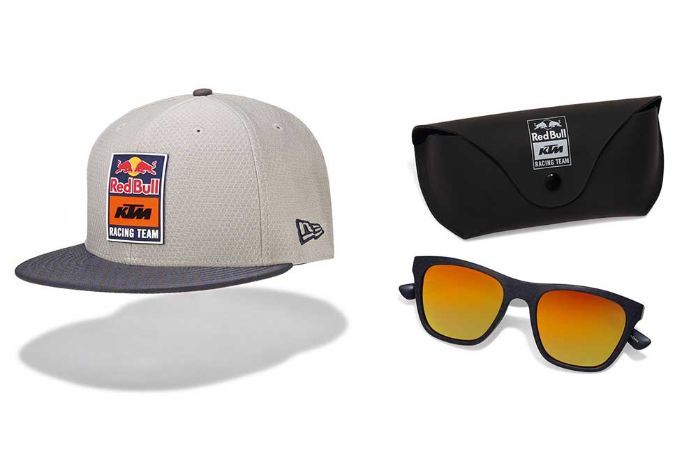 gorra y gafas KTM Racing Time