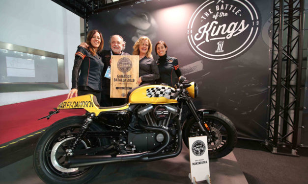 Harley Davidson Makinostra pasa a la final del Battle of Kings en España y Portugal