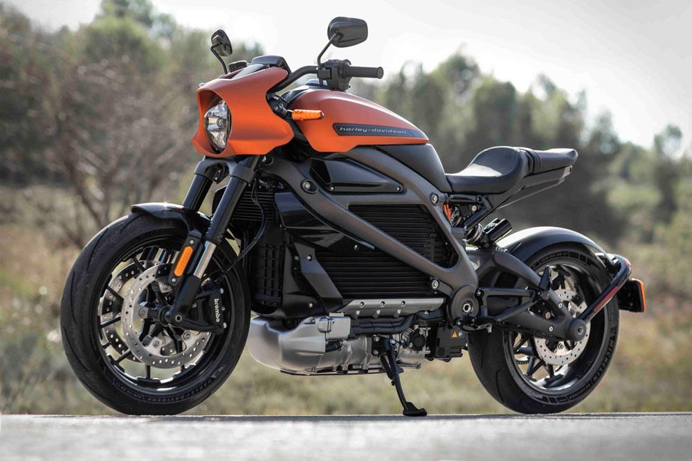 Las primeras Harley Davidson Livewire eléctrícas se entregarán el próximo otoño