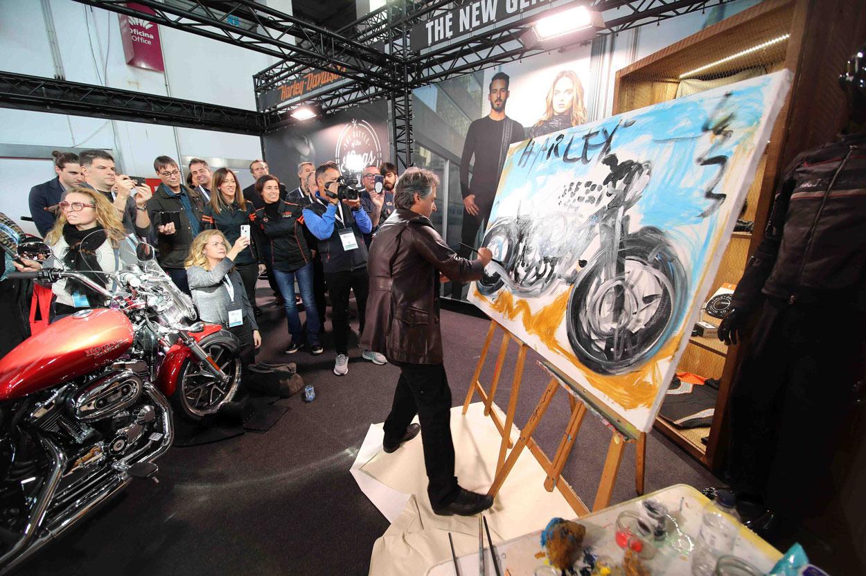 Harley Davidson en el Salón Vive la Moto de Barcelona