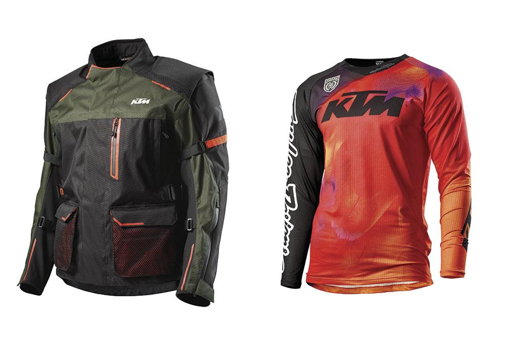 Chaqueta Defender y camiseta Se Slash de KTM