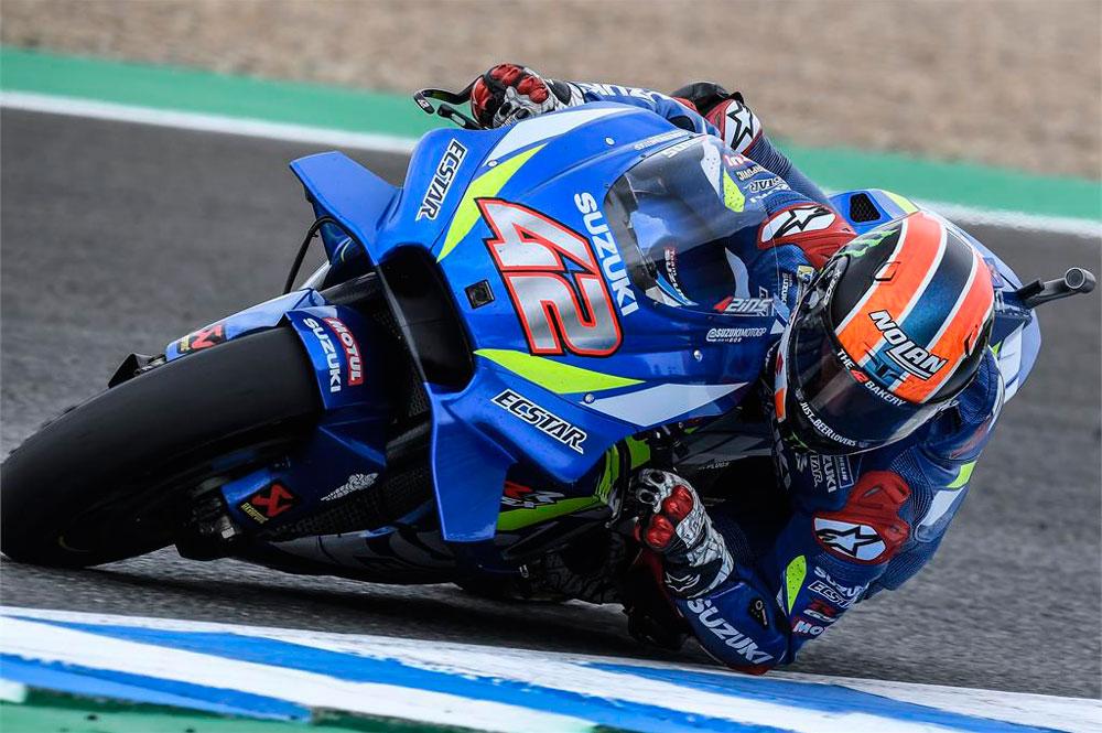 Alex Rins fue segundo en el Gran Premio de España 2019
