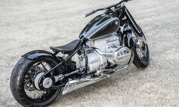 BMW Concept R18, una moto custom al estilo alemán