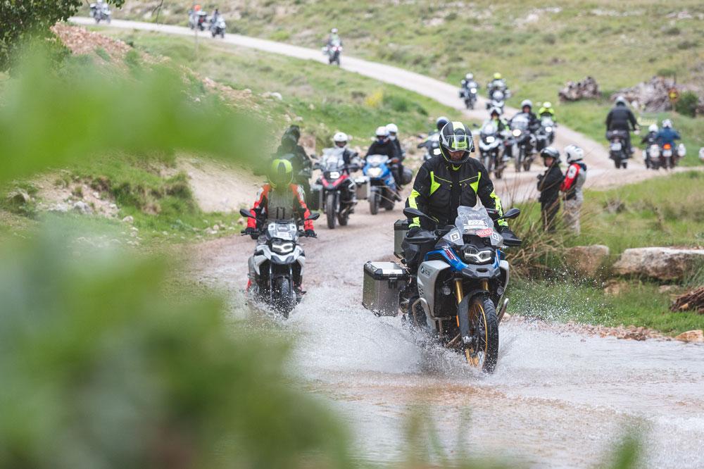 El BMW PuntApunta tuvo un recorrido exclusivo para las trail