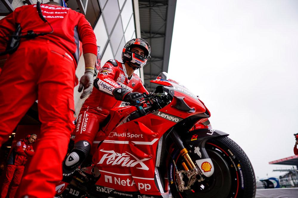 Danilo Petrucci tuvo un magnífico Gran Premio de Francia en MotoGP