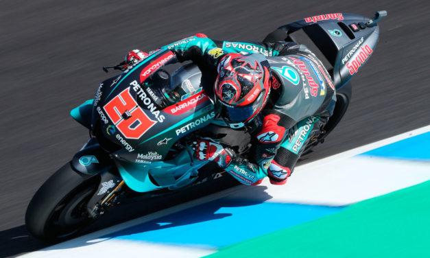 Las Yamaha satélite deslumbran en el GP de España en MotoGP