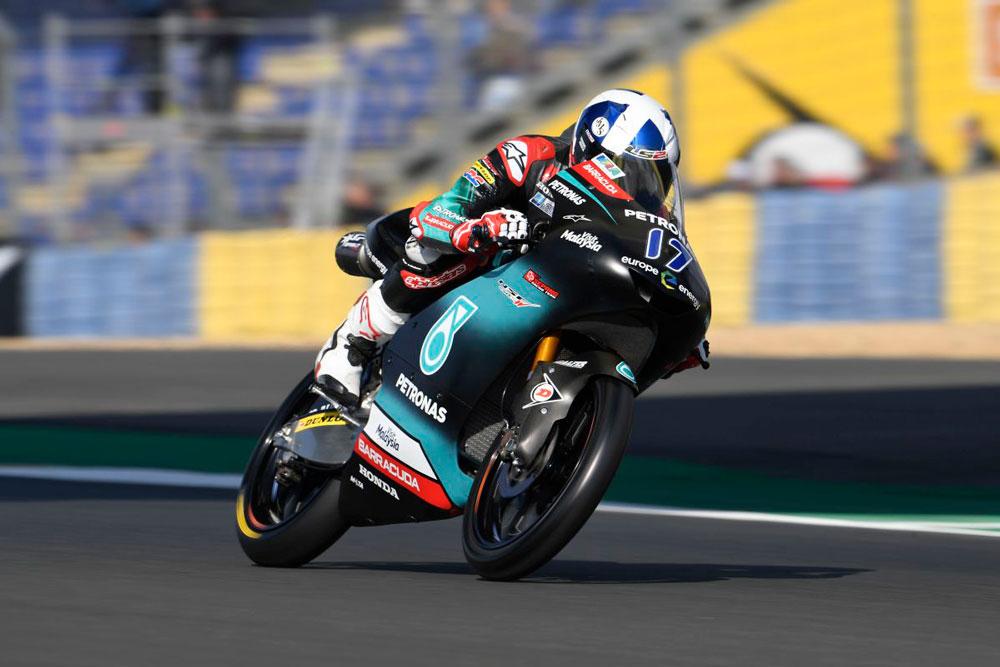Victoria de John McPhee en la categoría Moto3 del Gran Premio de Francia