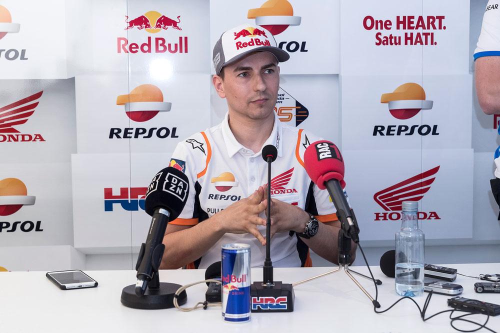 Jorge Lorenzo podría encontrar el camino en la lucha por el podio del GP de España