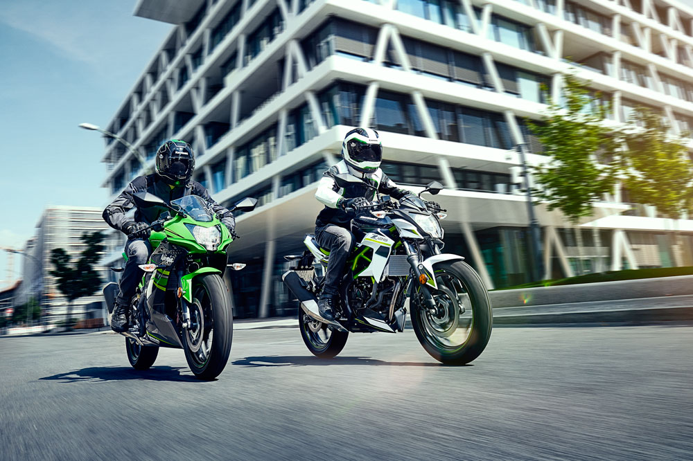 Kawasaki Ninja y Z125