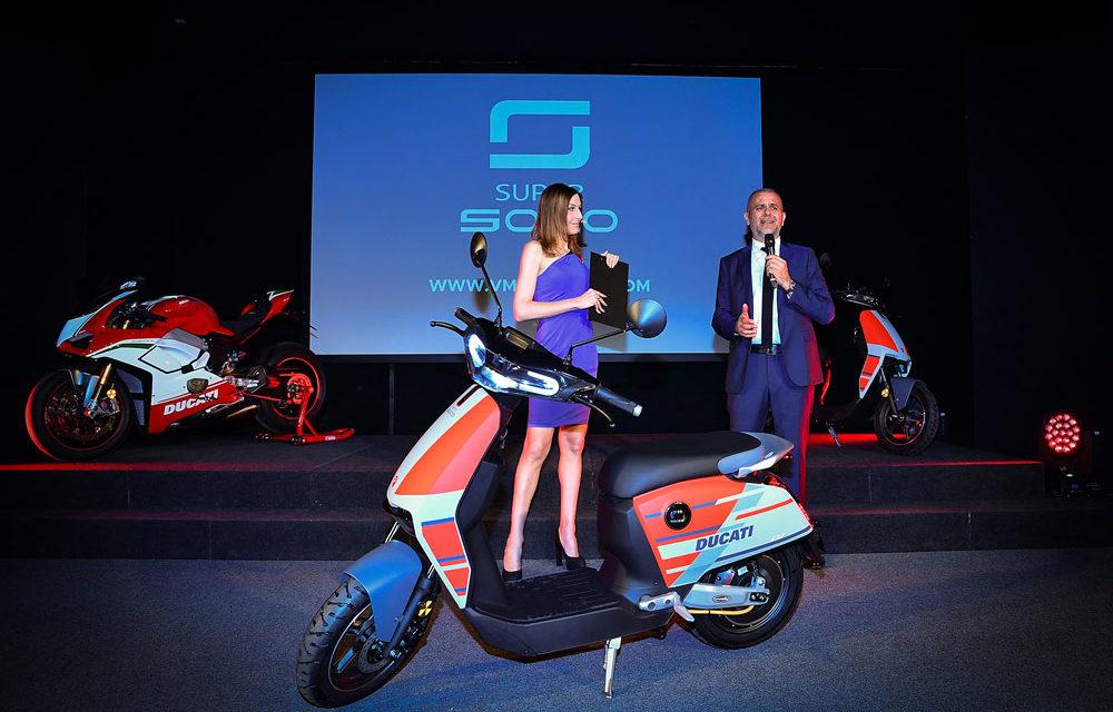 Ducati Super Soco, un scooter eléctrico de Borgo Panigale
