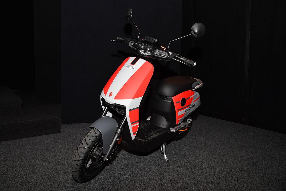 Scooter eléctrico Ducati Super Soco