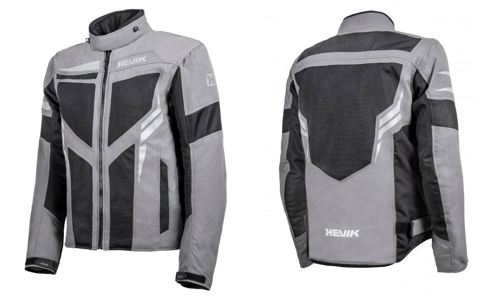 Chaqueta para moto de Verano Ikaro de Hevik en gris
