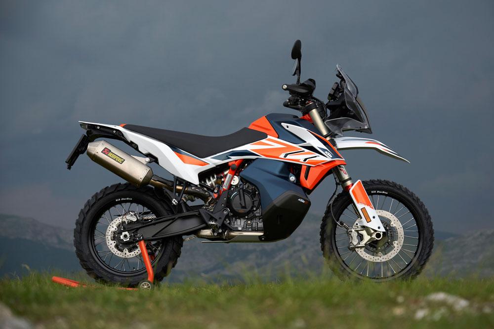 La KTM 790 Adventure Rally recibe nuevas suspensiones y sistema de cambio asistido