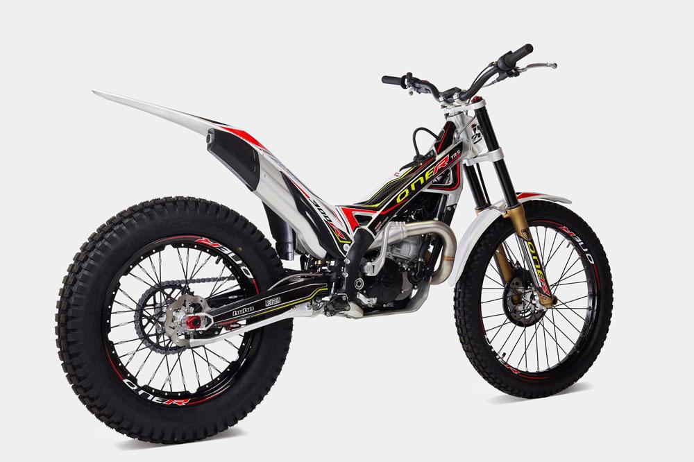 La TRRS One 2020 es una moto de trial 100 por cien desarrollada en competición
