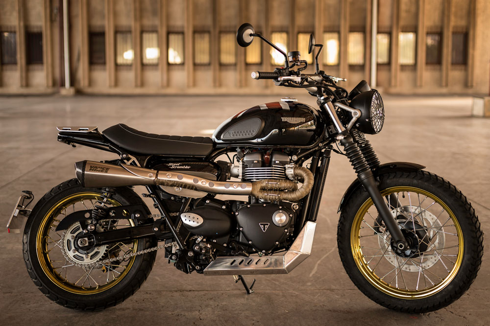 Triumph British Pride, ganadora del concurso Garage Icon