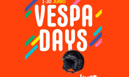LLévate un casco Vespa Mirror en los Vespa Days