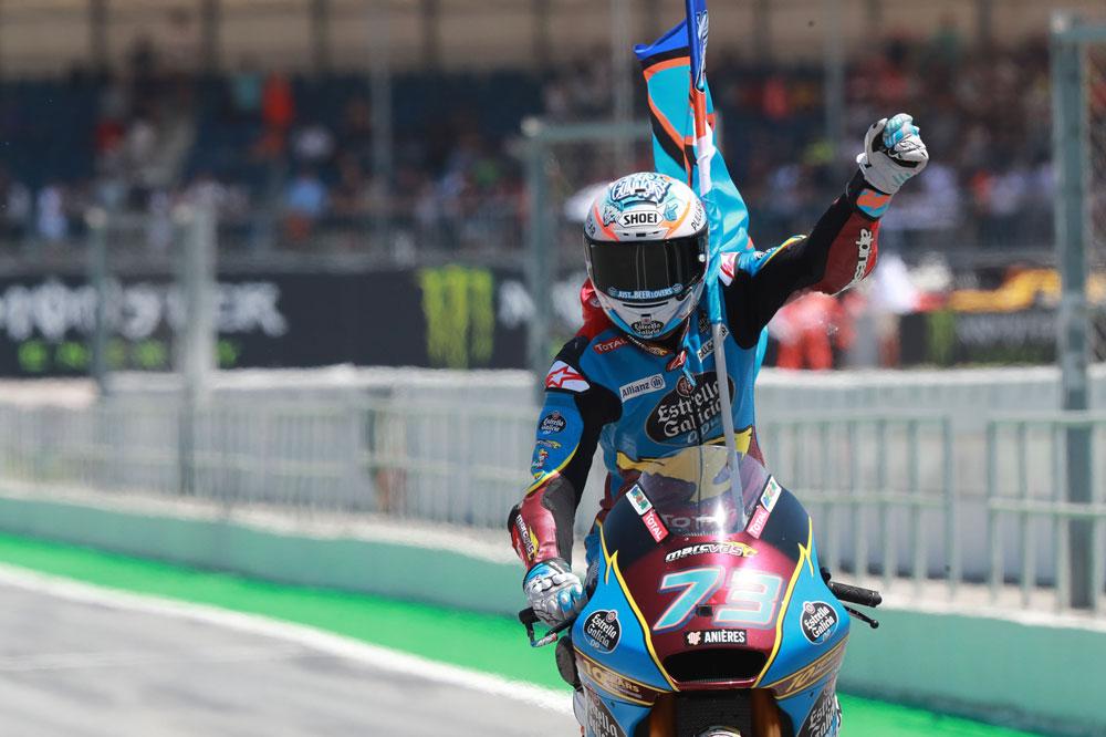Alex Márquez, victoria y liderato tras la carrera de Moto2 del GP de Cataluña