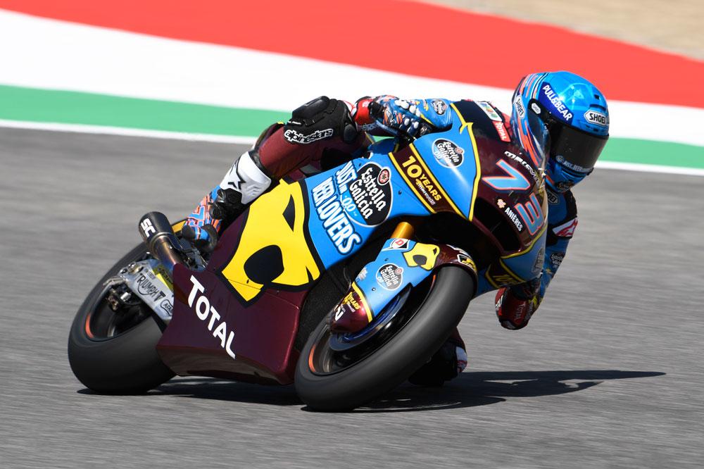 Alex Márquez logró la victoria en la categoría Moto2 del GP de Italia