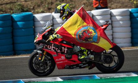 Alvaro Bautista y Van der Mark, reyes de SBK Jerez