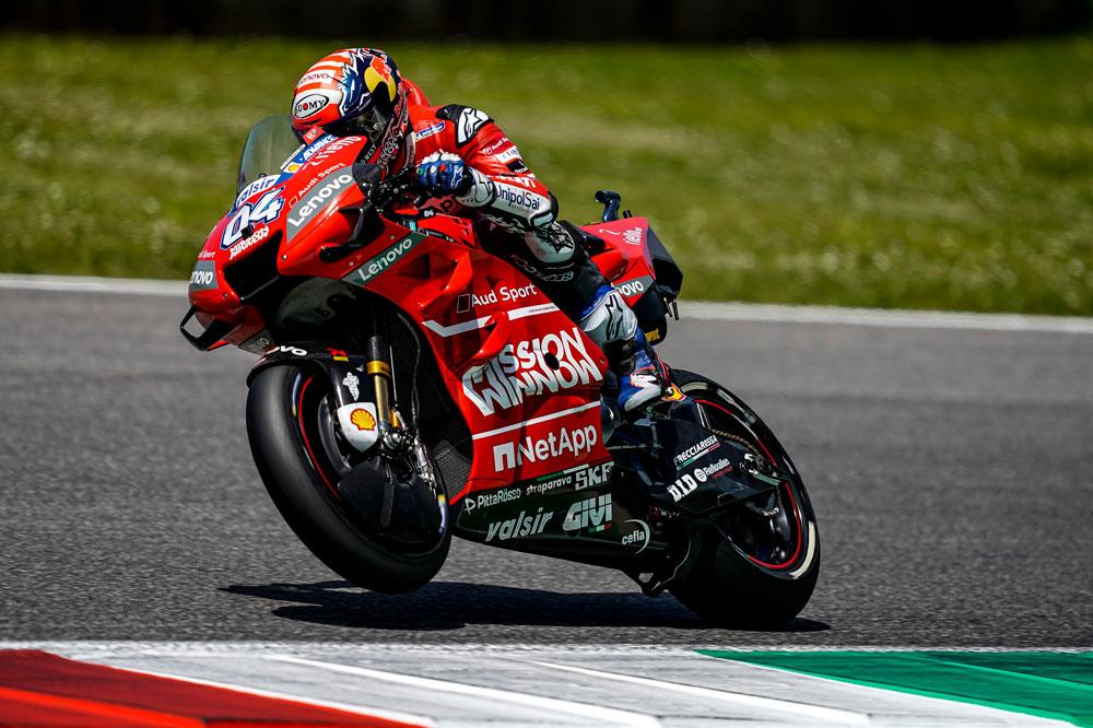 Dovizioso, decepcionado porque Marc Márquez le arrebatase la segunda plaza a escasos metros de la meta en MotoGP en el GP de Italia