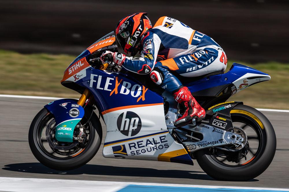 Primera victoria en Moto2 de Augusto Fernández