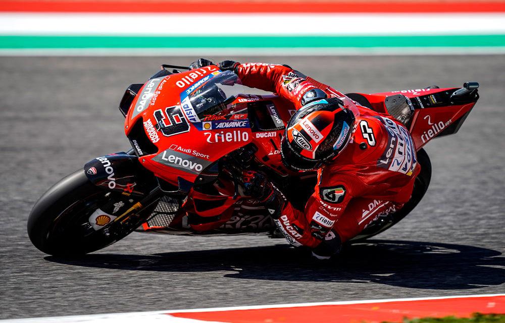 MotoGP Italia: Petrucci gana con Márquez en segunda posición