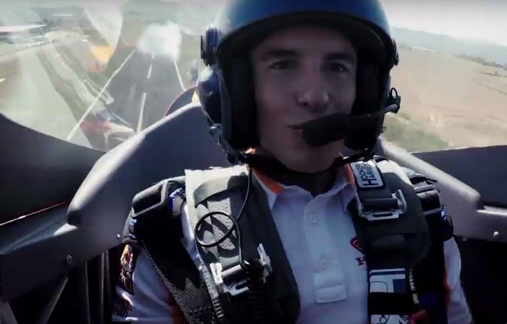 Marc Márquez compara un avión de acrobacias con su MotoGP