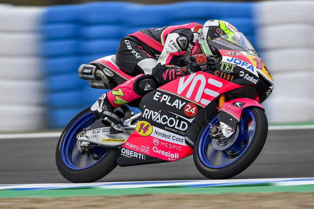Victoria de Toni Arbolino en Moto3 en el GP de Holanda