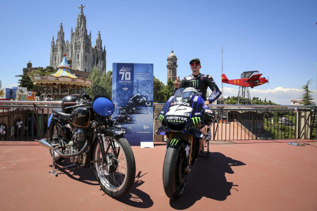 70 años del Mundial de Motociclismo: Yamaha y Velocette en el Tibidabo