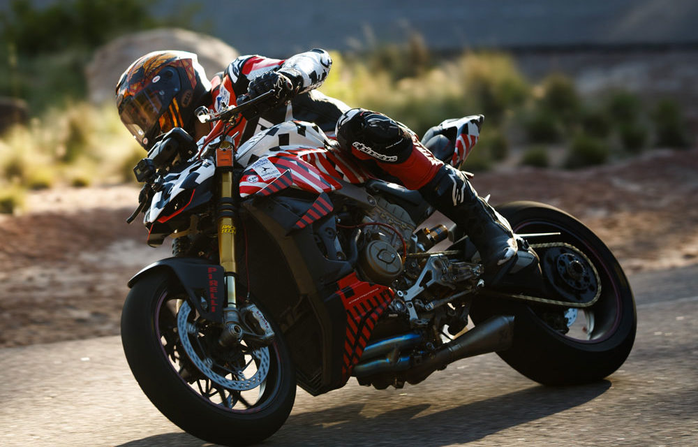 Fallece Carlin Dunne cuando pilotaba la Ducati Streetfighter V4 en el Pikes Peak