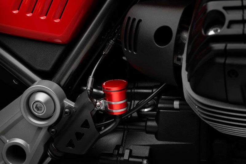 Depósito aceite Rizoma para la Guzzi V85 TT