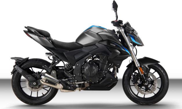 VOGE llega a España con tres motos para el A2