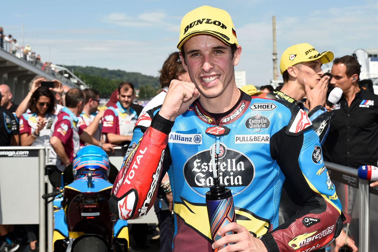 Alex Márquez recupera el liderato de la categoría Moto2 tras el GP de Alemania
