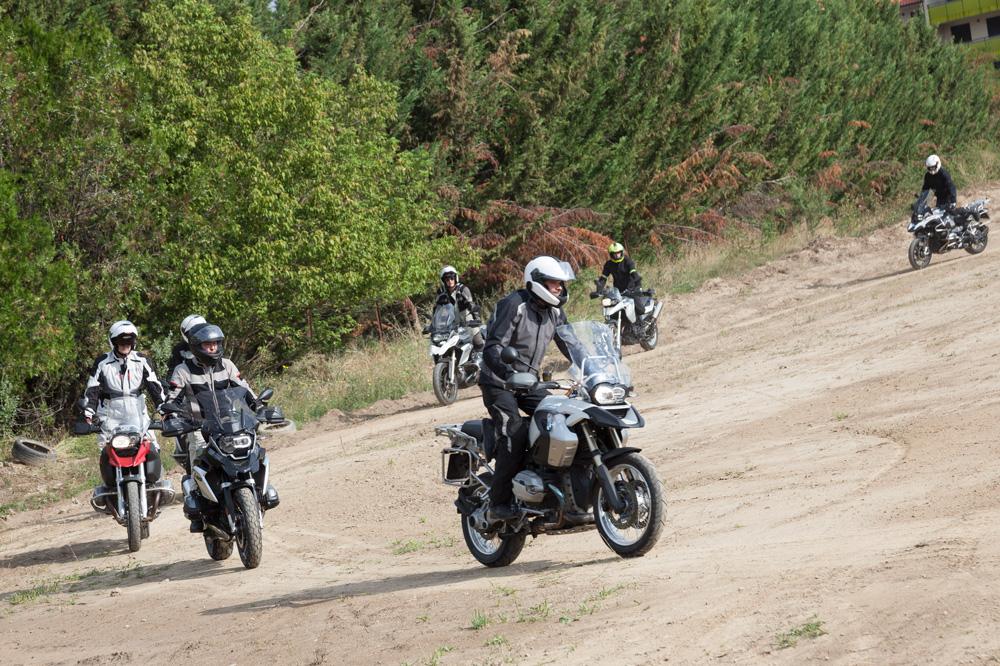 Isaac Feliu podrá en marcha una zona de entrenamiento y aprendizaje para las grandes trail de BMW