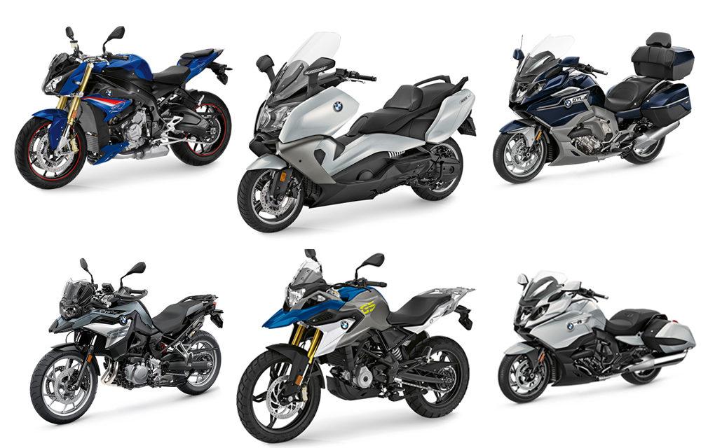 BMW Motorrad actualiza su paleta de colores para este 2020