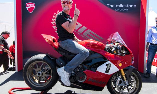 Carl Fogarty habla de la Ducati V4 25 Aniversario