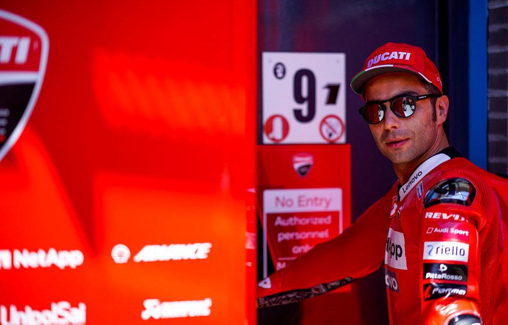 Petrucci y Ducati, también juntos en MotoGP 2020