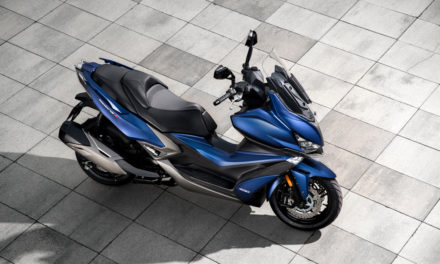 KYMCO Xciting S 400, maxi scooter polivalente