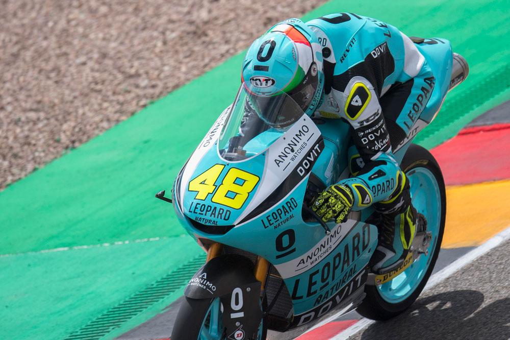 Lorenzo Dalla Porta, victoria y liderato tras el GP de Alemania