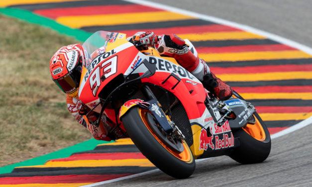 Marc Márquez no tiene rivales ni en MotoGP ni en el GP de Alemania