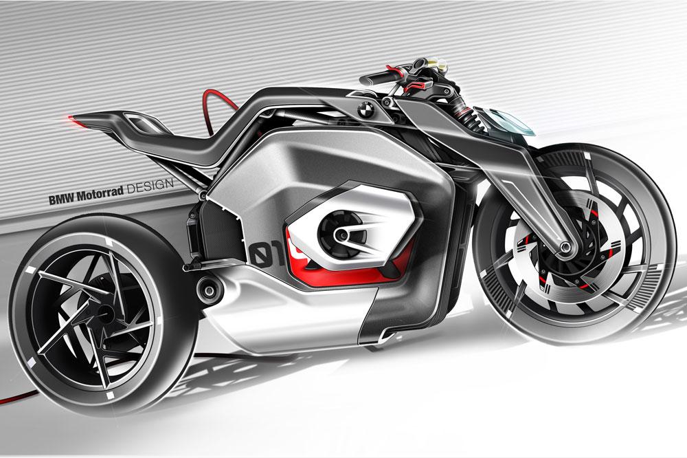 Todavía no se sabe si este prototipo de moto eléctrica BMW saldrá adelante o no