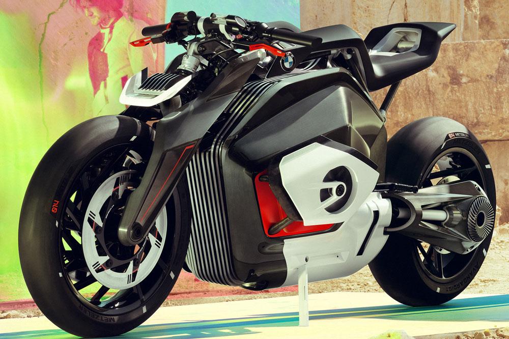 Moto BMW Eléctrica Vision DC Prototipo