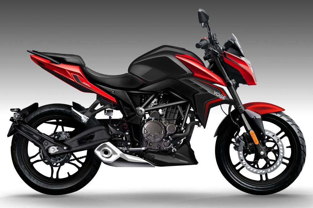La gama de motos VOGE comienza con la Naked 300R