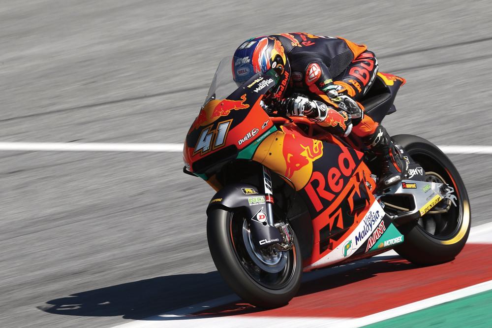 Brad Binder logra la victoria en Moto2 en el Gran Premio de Austria