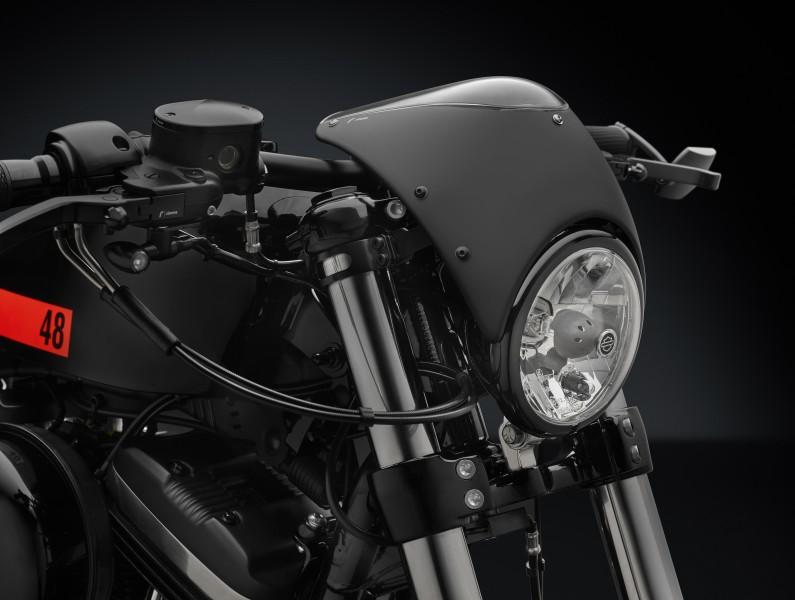 Cúpula del Kit equipamiento Rizoma para la Harley-Davidson XL1200X Sportster