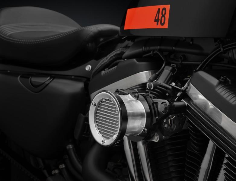 Filtro aceite del Kit equipamiento Rizoma para la Harley-Davidson XL1200X Sportster
