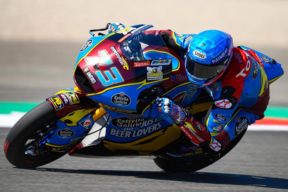 Alex Márquez logró la victoria en Moto2 en el Gran Premio de la República Checa