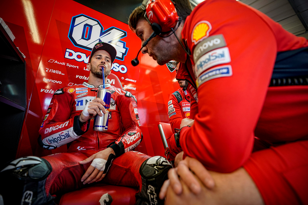 Andrea Dovizioso, gran premio de Gran Bretaña MotoGP